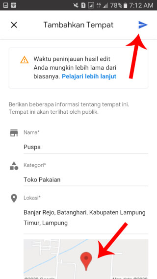 maps di hp android